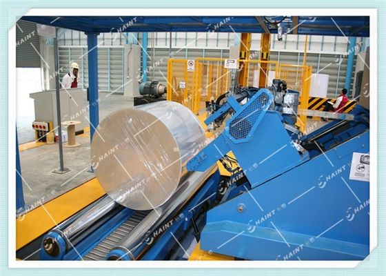 Paper Roll Kraft / Stretch Wrap Systems Automatic Type Module Structure From Chaint